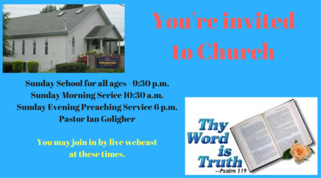 Your Invitation to Our Church