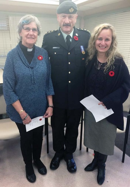 Remembrance Day Observance at St Michael's Care Home