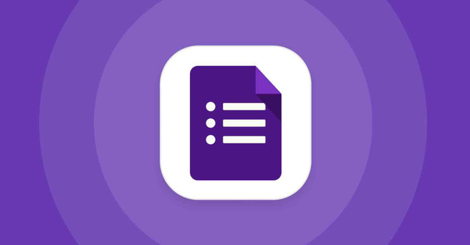 Working with Google Forms image