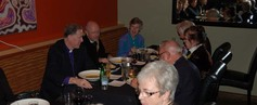 Primate out to dinner withe mission council