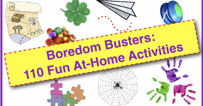 No screen required Boredom Busters for Children image