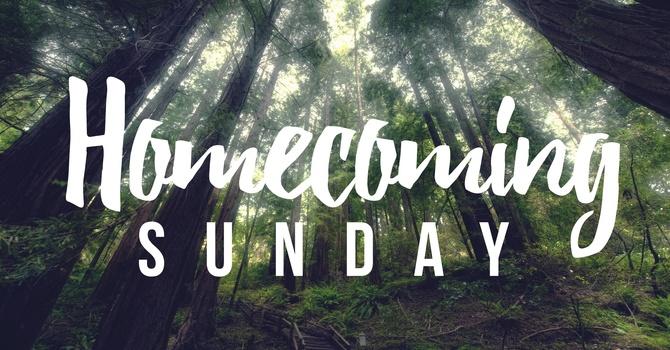 Homecoming Sunday - Rally Day  image