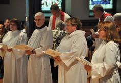 Four diaconal ordinands