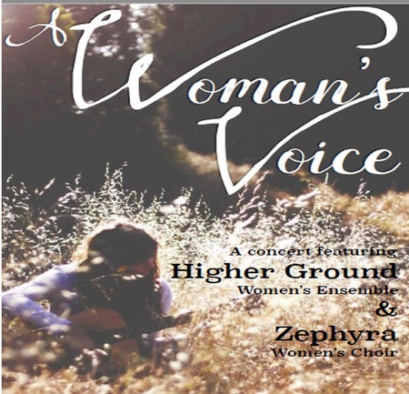 A WOMAN'S VOICE - a bonus spring concert in support of Spectrum