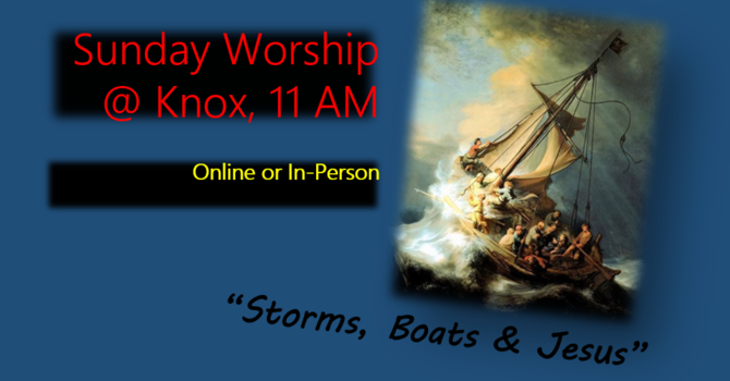 Storms, Boats & Jesus