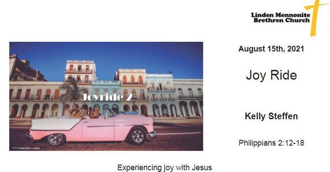Bulletin for Sunday, August 15, 2021 image