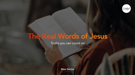 The Real Words of Jesus
