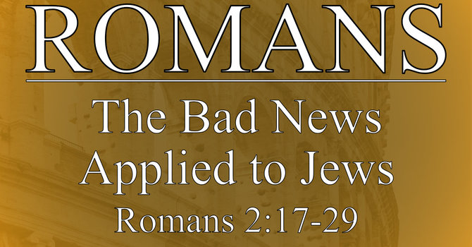 The Bad News Applied to Jews