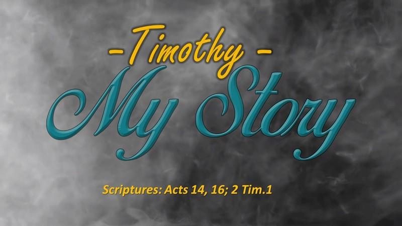 My Story - Timothy