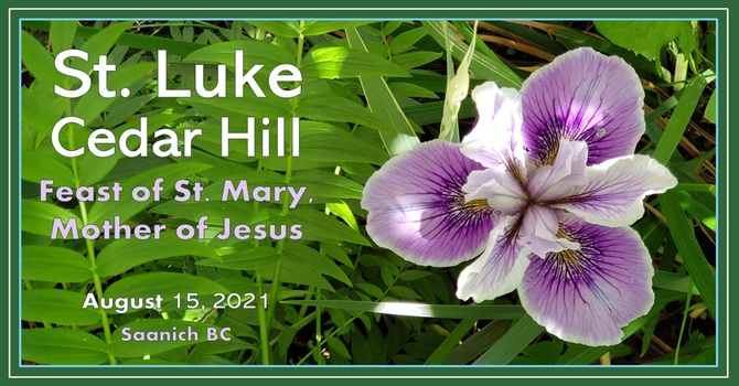 Video of the Service for the Feast of St. Mary Is Now Available image