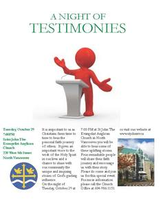 Poster night of testimonies copy
