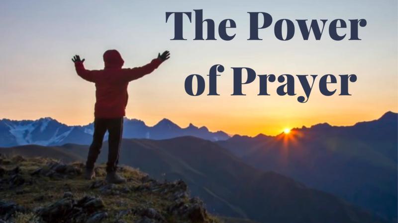 Celebration Sunday - The Power of Prayer