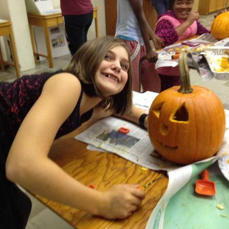Youth group Halloween party