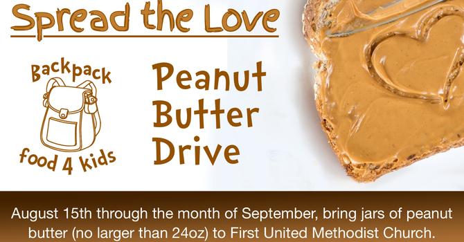Peanut Butter Drive image