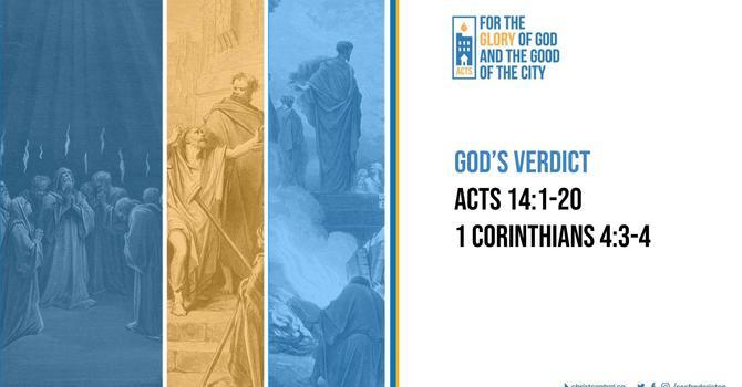 God's Verdict