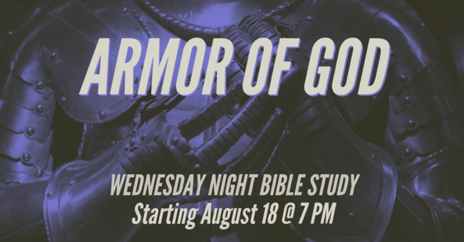 Wednesday Night Bible Study image