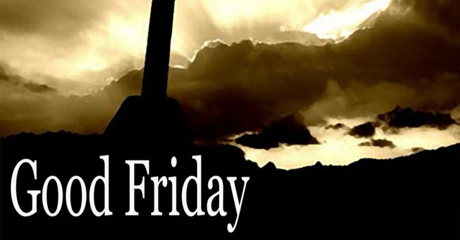 Good Friday Worship and Communion Service image
