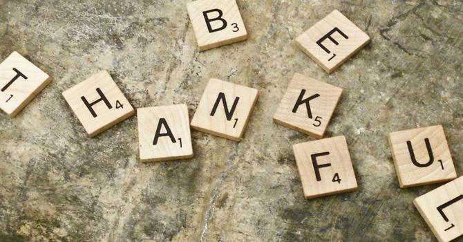 Thankfulness image