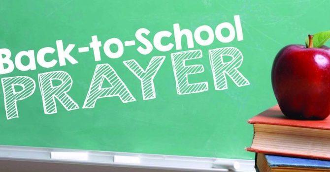 Back To School Prayer 2021