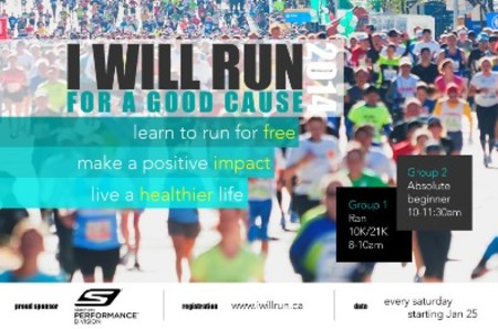 I WILL RUN FOR A GOOD CAUSE