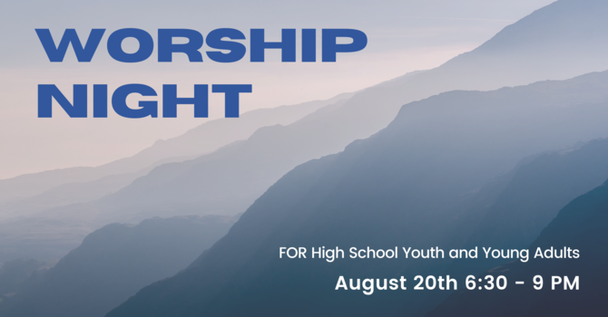 HSY and Young Adults Worship Night