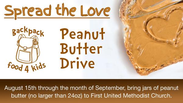 Peanut Butter Drive