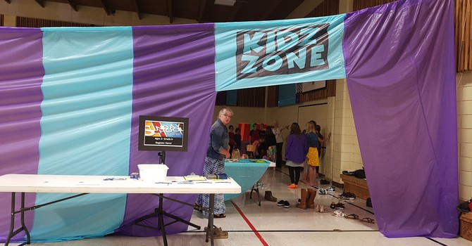 Kids zone for children