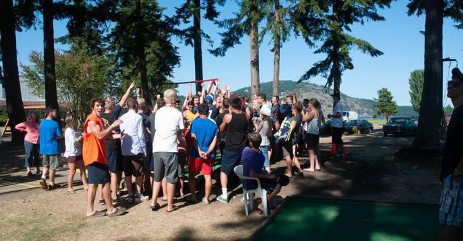 God at Work at Mids Camp! image