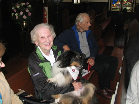 Pets and Their Humans Loved the Blessing of the Animals Service