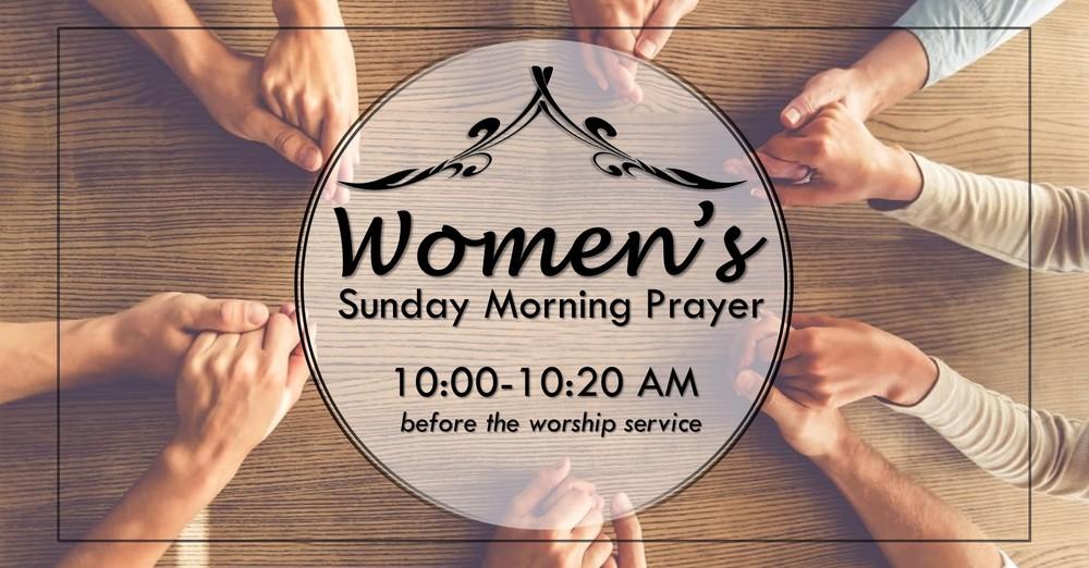Women's Sunday Morning Prayer