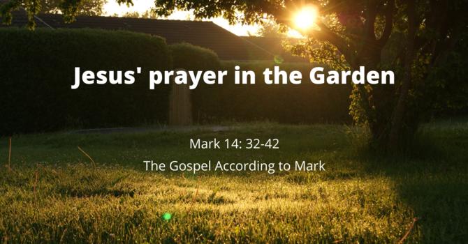 Jesus' Prayer in the Garden
