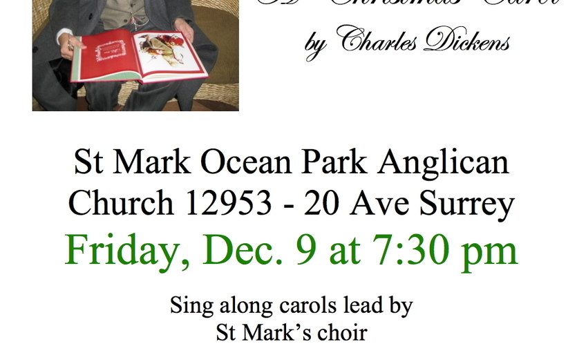 A Christmas Carol Reading In White Rock