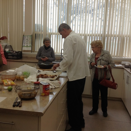 Chef visits Ladies Lunch and Learn