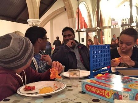 Youth group travels to Diocesan service