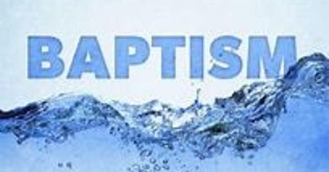 Baptism Class for Kindergarten Students