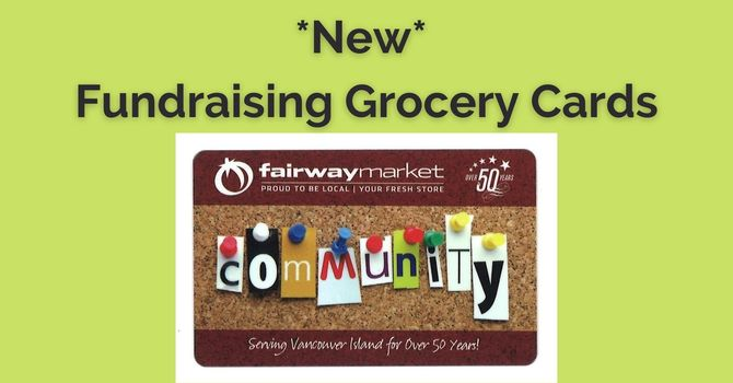 Grocery Fundraising Cards image