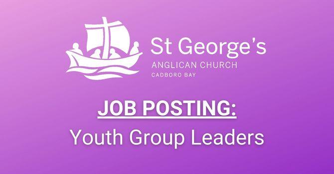 Job Posting: Youth Group Leaders image