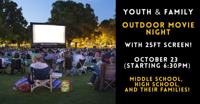 Youth & Family Outdoor Movie Night