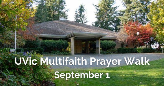 Multifaith Prayer Walk at UVic image