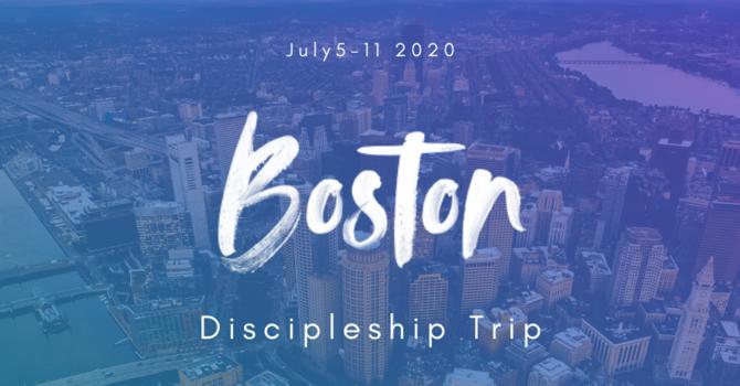 Student Ministries Discipleship Trip