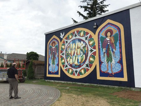 St. Alban's Mural Dedication