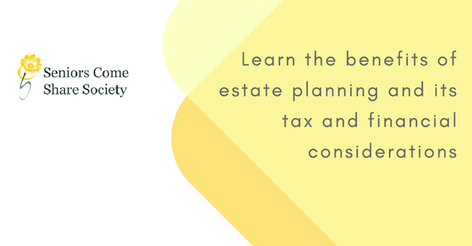 Estate Planning, Tax Matters & A Financial Blueprint image