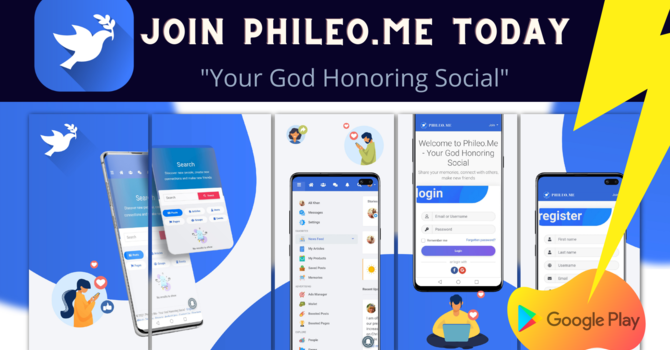 JOIN PHILEO.ME NOW!  image