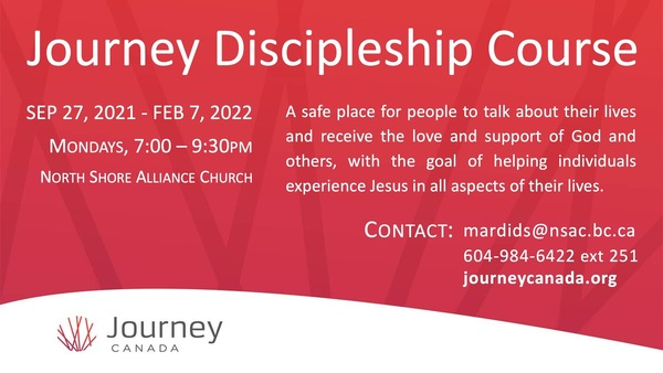 Journey Discipleship Course