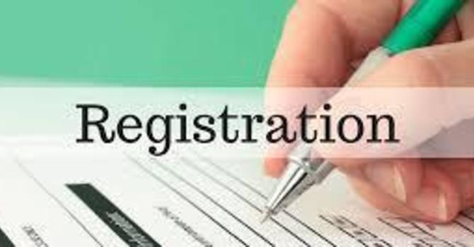 In house registration (tentative)