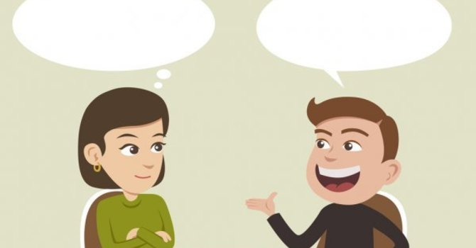 Conversations with Parishioners... image