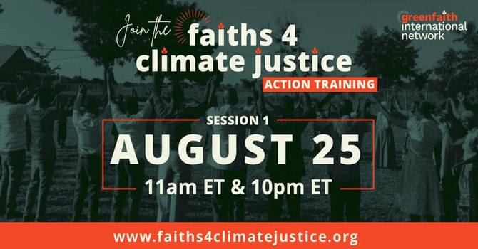 Climate Change Action Online Training Session image