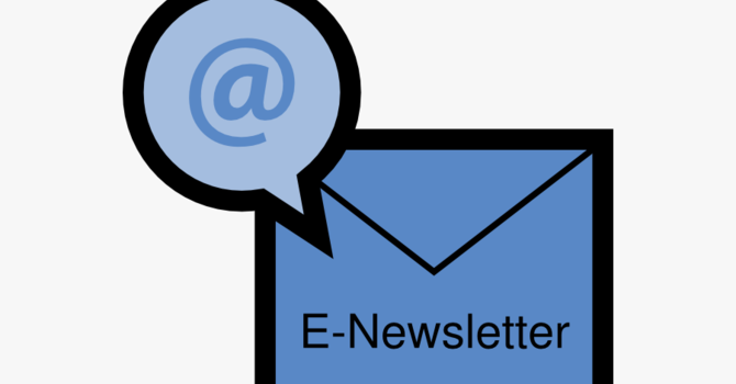 Weekly e-newsletter from the United Church of Canada image