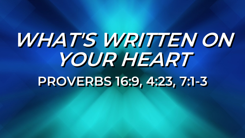 What's Written on Your Heart?