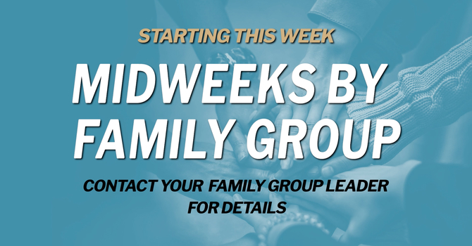 Midweek By Small Groups
